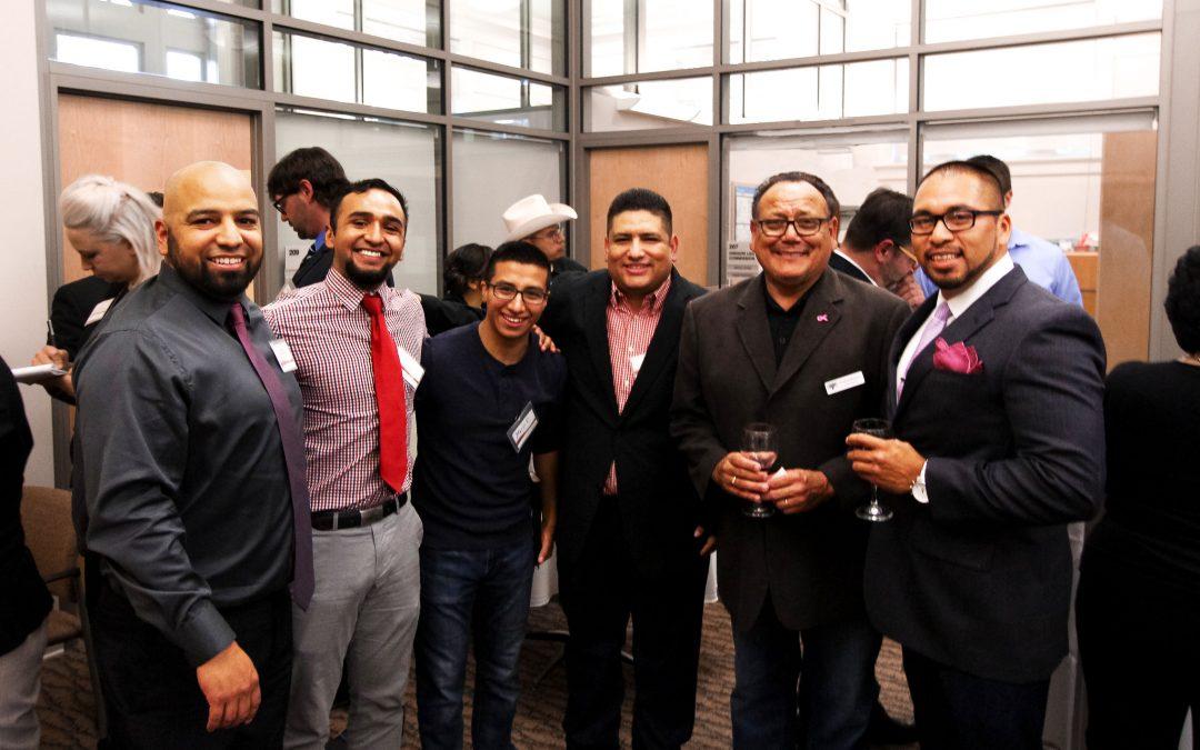 Left to right: Izzy Cavazos, Rene Chavez, Mario Palafox, Levi Herrera-Lopez, Roland Herrera, Odi Campos