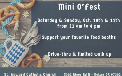 Mini O'Fest 2020 at St. Edwards