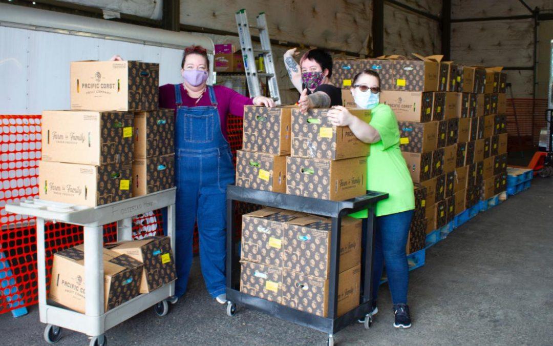 Fostering Hope Initiative-USDA Partnership Feeds Thousands