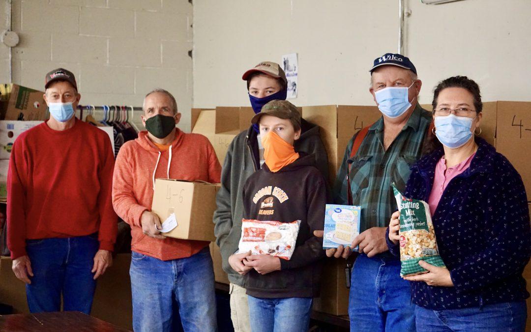CCS Volunteers Undaunted by COVID